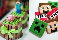 Festa Minecraft: 40 ideias geniais para você fazer a sua!