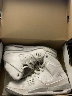 33ddf56a3b2c Unisex Shoes · Nike Air Jordan Sc-1 Gs White Metalic Silver 538699-100 Size  6.5