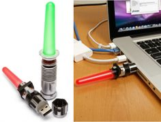 USB Lightsabers: Use the Force to Back up Your Files