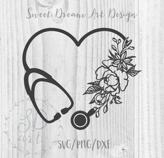 Nurses Week Quotes Discover Heart Stethoscope with flowers SVG Heart Stethoscope svg file Medical Assistant svg Nurse svg Cricut Silhouette svg Nurse svg file cut Nurse Art, Cricut Tutorials, Cricut Ideas, Medical Assistant, Piercing Tattoo, Future Tattoos, Vinyl Projects, Silhouette Design, Tattoos For Nurses