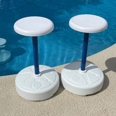Pool Chairs, Pool Table, A Table, Dry Mix Concrete, Dog Pool Ramp, Pool Toy Storage, Outdoor Pool Furniture, Swimming Pool Decorations, Decks Around Pools