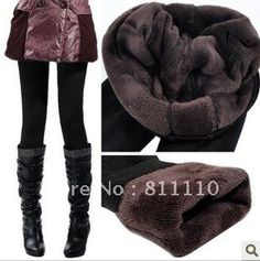 Trend Knitting HOT SALE 2013 winter new High elastic thicken lady's Leggings warm pants skinny pants for women $9.81