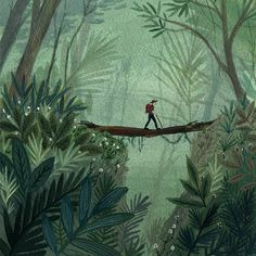 Jungle Hike  by Becca Stadtlander  on Etsy