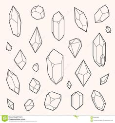 set-vector-crystal-shapes-un-expanded-strokes-illustration-eps-60062890.jpg (1300×1390)
