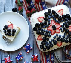 Star Spangled Lemon Cake - Make some simple Meal Magic with this delicious recipe from Reynolds Kitchens.