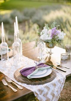 Stunning Spring Wedding Tablescapes