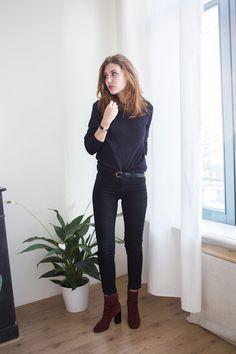 Isabel Marant Garett Boots Outfit