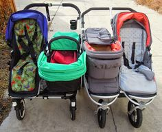 Stroller Crazy: Bumbleride Indie Twin vs Bugaboo Donkey Duo