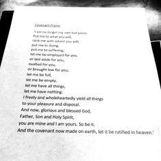 The bravest prayer I've ever seen.