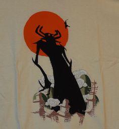 NEW TeeFury Deliverer of Darkness Samurai Jack Aku ivory unisex t-shirt #TeeFury #ShortSleeve