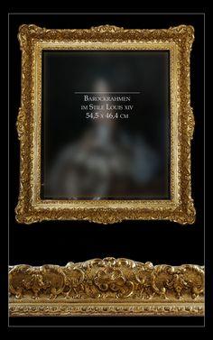 Barockrahmen im Stile Louis XIV
