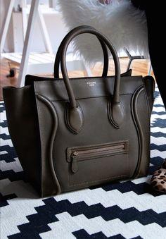 celine uk handbags - Celine \u0026#39;Micro\u0026#39; leather luggage totes. | HANDBAGS my way ...