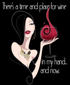 There's a time and place for wine