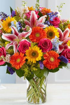Send summer flowers & gifts this season & give someone a reason to smile! Choose from beautiful summer wreaths to summer flowering plants, and more! Summer Flowers To Plant, Summer Flower Arrangements, Summer Plants, Flowers Nature, Exotic Flowers, Pretty Flowers, Planting Flowers, Floral Arrangements, Gerbera Daisy Care