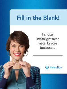REPIN and tell us why Invisalign was the clear alternative for you!  *We love that there are NO food restrictions!
