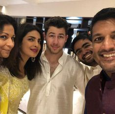 Priyanka Chopra And Nick Jonas's Roka And Engagement Party- All Pictures & Details! - The Urban Guide Celebrity Gallery, Celebrity Pictures, Nick Jonas, Bollywood Stars, Priyanka Chopra, Celebs, Celebrities, Celebrity Couples, Engagement Pictures