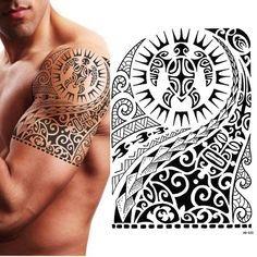 Tribal Temporary Tattoo, Maori Turtle, Polynesian, Black, Me… – Tattoos Maori Tattoos, Marquesan Tattoos, Samoan Tattoo, Sleeve Tattoos, Mens Tattoos, Borneo Tattoos, Tattoos Skull, Forearm Tattoos, Tatoos