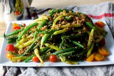 green beans with almond pesto | http://smittenkitchen.com