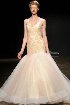 10 Stunning Champagne Wedding Gowns 2014Confetti Daydreams – Wedding Blog