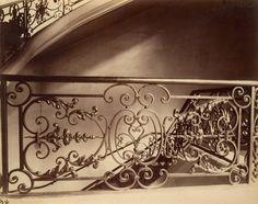 Architecture: Escalier du 97, rue du Bac, 1903 | Vergue