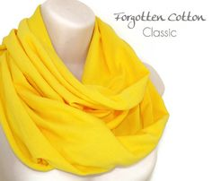 Shoply.com -Infinity Scarf Yellow Bright. Only $20.00