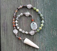Deer Magic Pagan Prayer Beads