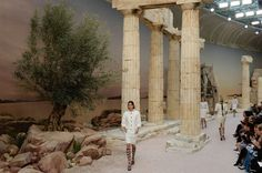 How Greece Inspired the Chanel Cruise Show 2018
