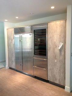 Concrete Kitchen Cabinet Finish From Bauformat Brest 186
