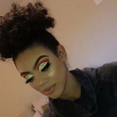 - Prom Makeup Looks Glitter Makeup Looks, Prom Makeup Looks, Glam Makeup Look, Black Girl Makeup, Cute Makeup, Girls Makeup, Gorgeous Makeup, Easy Makeup, Make Up Looks