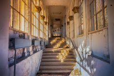 The Old Soviet sanatorium // Georgia Abandoned Mansions, Abandoned Places, Travel Pictures, Travel Photos, South Ossetia, Urban Exploration, Travel Bugs, Resort Spa, Places To Visit