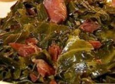 Southern Collard Greens w/ Bacon
