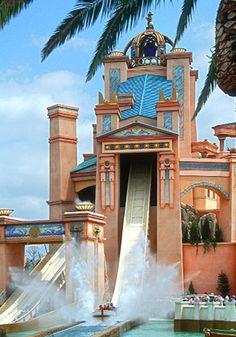 Journey to Atlantis; Seaworld Orlando