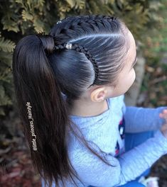 braided hairstyles hairstyles long hairstyles directions hairstyles pigtails hairstyles long bun hairstyles african american hairstyles round face hairstyles how to do Girls Hairdos, Lil Girl Hairstyles, Princess Hairstyles, Braided Hairstyles, Braided Locs, Toddler Hair, Hair Dos, Hair Trends, Long Hairstyles