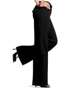 Style & Co. Plus Size Solid Wide-Leg Pants - Pants & Capris - Plus Sizes - Macy's