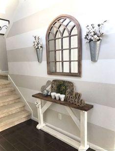 Cozy Modern Farmhouse Style Living Room Decor Ideas 03