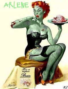 Awesome Zombie Pinup!