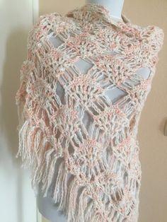 e90d4c986d Chal Crochet boho fiesta, Crochet Shawl Wrap, Bridal Wrap, Bride Cape, Wedding  Cloak, Winter Wedding Shawl, Bridal Cover Up, Bridal Accessor