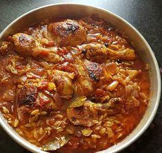 Ελληνικές συνταγές για νόστιμο, υγιεινό και οικονομικό φαγητό. Δοκιμάστε τες όλες Cookbook Recipes, Meat Recipes, Seafood Recipes, Cooking Recipes, Cyprus Food, Greek Dinners, Greek Cooking, Food Tasting, Mediterranean Recipes