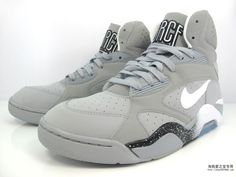 "Nike Air Force 180 High ""Wolf Grey"" something about that color always gets me"