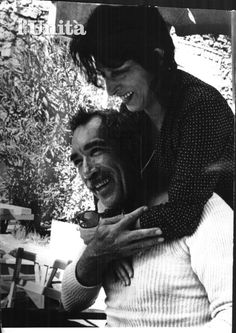 Magnani with Anthony Quinn