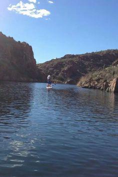 Paddle Arizona  #sup #supaz #paddleaz #paddleboard #paddle #fanaticsup #bogasup #bogaboards #canyonlake