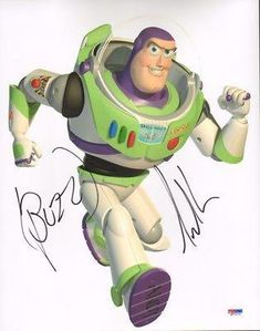 Tim Allen Signed Toy Story 11X14 Photo Buzz Ins - Psa/Dna Certified @ niftywarehouse.com #NiftyWarehouse #Toy #Story #Movie #ToyStory #Pixar