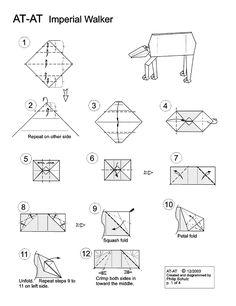 star wars origami website