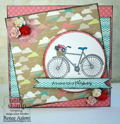 Basket Full of Wishes {Jillibean Itty Bitty} - Unity Stamp Co