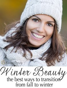 Updating your #skincare, #makeup and #beauty routines when the weather changes!
