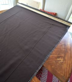 DIY Privacy Liner for Bamboo Roman Shadesby Exquisitely Unremarkable