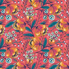Vintage roses. Vector collection of seamless patterns on Behance