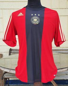 GERMANY 2008-2009 AWAY JERSEY ADIDAS SHIRT TRIKOT LARGE/ CODE # 613850 Football Kits, Football Jerseys, Germany Kit, Vintage Jerseys, Adidas Shirt, Soccer, Japan, Actors, Classic