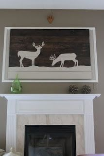 I would love to re-create this painting on a wood pallet.