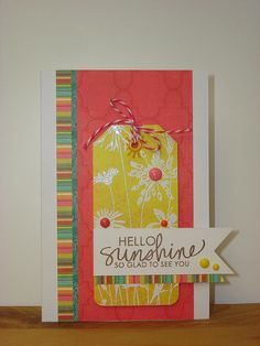 Hello Sunshine! Hello Spring! by mlaxelson, via Flickr